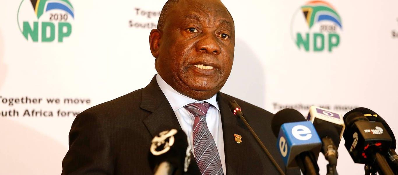 President Ramaphosa Speech Today